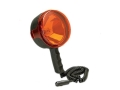 Cyclops Thor Spotlight 3-1/2 Million Candle Power Halogen Bulb with 12V DC Adapter and Red Lens Polymer Black