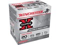 "Winchester Super-X High Brass Ammunition 20 Gauge 2-3/4"" 1 oz #7-1/2 Shot"