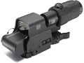 EOTech EXPS2-2 Holographic Hybrid Sight II 68 MOA Circle with (2) 1 MOA Dots Reticle with G33 3X Magnifier and Switch to Side QD mount Matte