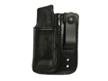 Galco Inside the Waistband Single Magazine Pouch Single Stack 10mm, 45 ACP Magazines Leather Black