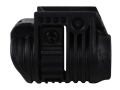 Mako Picatinny Rail Flashlight Mount 1&quot; Ring Diameter Polymer Black