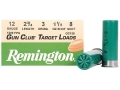 "Product detail of Remington Gun Club Target Ammunition 12 Gauge 2-3/4"" 1-1/8 oz #8 Shot"