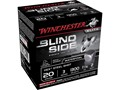 Winchester Blind Side Ammunition 20 Gauge 3&quot; 1-1/16 oz #2 Non-Toxic Steel Shot Box of 25