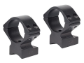 Talley Lightweight 2-Piece Scope Mounts with Integral 1&quot; Rings Anschutz Matte Medium