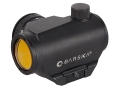 Barska Red Dot Sight 1x 20mm 2 MOA Dot with Intergal Weaver-Style Base Matte
