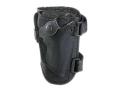 """Bianchi1 4750 Ranger Triad Ankle Holster Small Frame Revolver 2"""" Barrel Nylon Black"""