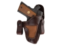 Bianchi 120 Covert Option Inside the Waistband Holster Right Hand 1911 Officer Leather Brown