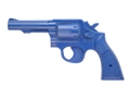 BlueGuns Firearm Simulator S&amp;W K-Frame 4&quot; Barrel Polyurethane Blue