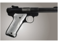 Hogue Extreme Series Grip Ruger Mark II, Mark III Flames Aluminum Clear