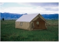 Montana Canvas Wall Tent with Sewn-In Floor 10 oz Canvas