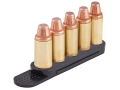 Tuff Products Quickstrip 7mm Mag, 357 H&amp;H, 300 Win Mag, 45 Auto Rim 5 Round Polymer Package of 2 Black