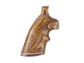 Hogue Fancy Hardwood Grips with Accent Stripe and Top Finger Groove Colt Anaconda, King Cobra Cocobolo