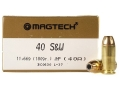 Magtech Sport Ammunition 40 S&W 180 Grain Jacketed Hollow Point