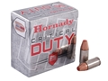 Product detail of Hornady Critical Duty Ammunition 9mm Luger 135 Grain FlexLock Box of 25