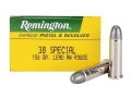 Remington Express Ammunition 38 Special 158 Grain Lead Round Nose Box of 50