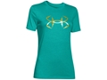 Under Armour Women's Storm Fish Hook Triblend Short Sleeve T-Shirt Charged Cotton
