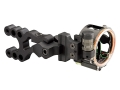 Trophy Ridge Alpha V3 3-Pin Bow Sight .019&quot; Pin Diameter Right Hand Aluminum Black