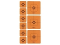 "Product detail of Caldwell Shooting Squares Combo Pack of 12 Sheets 36 2"" and 72 1"" Squares Orange"