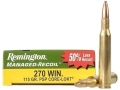 Remington Managed-Recoil Ammunition 270 Winchester 115 Grain Core-Lokt Pointed Soft Point Box of 20