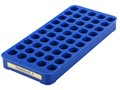 Frankford Arsenal Perfect Fit Reloading Tray #8 338 Laupa Magnum, 33 WCF, 45-70 Government 50-Round Blue
