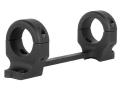 DNZ Products Game Reaper 1-Piece Scope Base with 1&quot; Integral Rings Browning X-Bolt Long Action Matte Medium