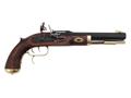 "Traditions Trapper Muzzleloading Pistol 50 Caliber Flint 9.75"" Blued Barrel Select Hardwood Stock"