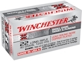Product detail of Winchester Super-X High Velocity Ammunition 22 Long Rifle 40 Grain Plated Lead Round Nose