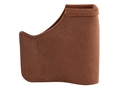 Galco Pocket Protector Holster Ambidextrous Taurus 738 TCP with Crimson Trace Lasergaurd  Leather Brown
