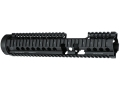Daniel Defense M4 12.0 FSP Free Float Tube Handguard Quad Rail AR-15 Extended Carbine Length Aluminum Black