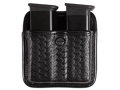 Bianchi 7922 AccuMold Elite Triple Threat 2 Magazine Pouch Beretta 8045, Glock 20, 21, HK USP 40, 45, Para-Ordnance P12, P13, P14, P13 Trilaminate Basketweave Black