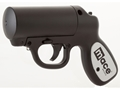 Mace Brand Pepper Gun with LED Light Pepper Spray 28 Gram Aerosol Includes OC Cartridge, Practice Cartridge, and Batteries 10% OC
