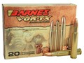 Barnes VOR-TX Safari Ammunition 416 Rigby Magnum 400 Grain Triple-Shock X Bullet Flat Base Box of 20