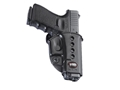Product detail of Fobus Evolution Belt Holster Right Hand Glock 17, 19, 22, 23, 26, 27, 33, 34, 35 Polymer Black