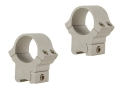 "Product detail of B-Square 1"" Sport Utility 22 Rimfire and Airgun Rings Medium Silver"