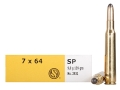 Product detail of Sellier & Bellot Ammunition 7x64mm Brenneke 139 Grain Semi-Jacketed Soft Point Box of 20