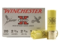 "Winchester Super-X High Brass Ammunition 20 Gauge 2-3/4"" 1 oz #7-1/2 Shot Box of 25"