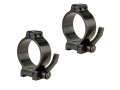 Talley 30mm Quick Detachable Scope Rings With Lever Matte Low