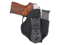 Product detail of DeSantis Tuck-This 2 Inside the Waistband Holster Right Hand Springfield XD Service 4&quot; Nylon Black