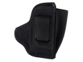 Product detail of DeSantis Pro Stealth Inside the Waistband Holster Ambidextrous Ruger LCP, Kimber Solo, Keltec P3AT, Kahr P380 Slim Nylon Black
