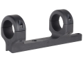 "Product detail of DNZ Products Game Reaper 1-Piece Scope Base with 1"" Integral Rings CVA Black Powder Matte Medium"
