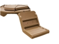Beavertail Stealth 1200 and 2000 Dog Ramp Polymer Marsh Brown