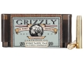 Grizzly Ammunition 444 Marlin 300 Grain PUNCH Box of 20