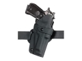 "Safariland 701 Concealment Holster Right Hand S&W 411, 4006, 4026, 4046 1.5"" Belt Loop Laminate Fine-Tac Black"