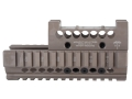 Product detail of Midwest Industries US Palm 2-Piece Railed Handguard AK-47, AK-74 with Leupold Delta Point Top Cover Optic Mount Aluminum