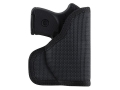 Product detail of DeSantis Nemesis Pocket Holster Ambidextrous  Kel-Tec P3AT, Ruger LCP with Crimson Trace Lasergrips Nylon Black