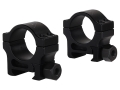 Trijicon 1&quot; Accupoint Aluminum Picatinny-Style Rings Matte Medium