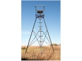 Big Game The Triumph Tripod Treestand Steel Black