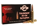 Prvi Partizan Thunder Ammunition 30-06 Springfield 170 Grain GROM Soft Point Box of 20