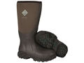 "Muck Arctic Pro 17"" Waterproof Insulated Hunting Boots Rubber and Nylon Bark Men's 14 D- Blemished"