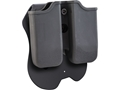 Caldwell Tac Ops Paddle Double Magazine Pouch Right Hand Single Stack 1911 Polymer Black